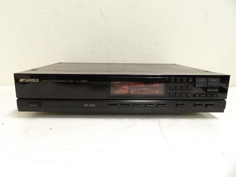 SANSUI デジタルシンセサイザーFM/AMチューナー TU-α707R