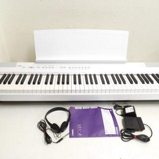 YAMAHA ヤマハ 電子ピアノ P-105WH 88鍵
