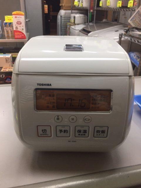 2015年製 東芝 3合炊き 炊飯器 RC-5SJ