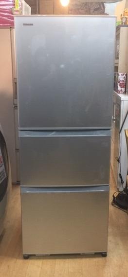 2017年製 東芝 3ドア冷蔵庫 GR-H34SY