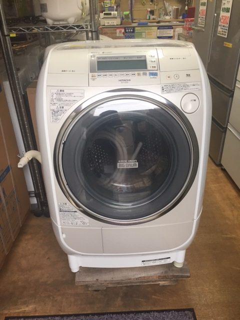 2010年製 日立 ドラム式洗濯 BD-V3200L