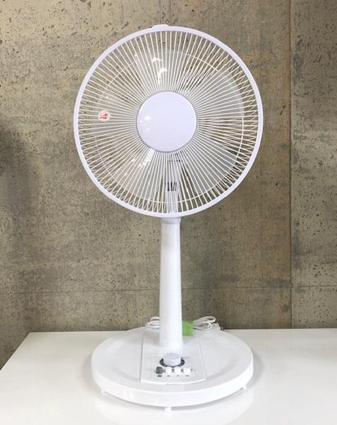 2018年製 テクノス 扇風機 KI-1735(W)