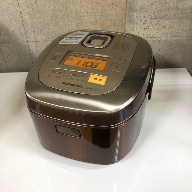 2014年製 パナソニック 5.5合炊き IHジャー炊飯器 SR-HX103