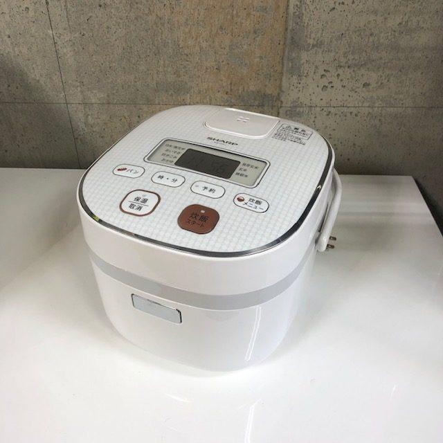 2016年製 パナソニック 3合炊き マイコン炊飯ジャー KS-C5J-W