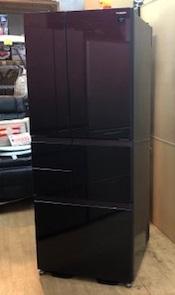 2014年製  シャープ  6ドア冷蔵庫  SJ-GT47A-R