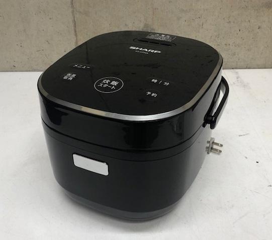 2019年製  シャープ  3合炊き  ジャー炊飯器 KS-CF05A-B