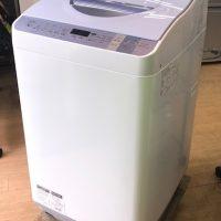 2016年製 シャープ 電気洗濯乾燥機 ES-TX550-A