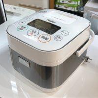 2018年製 ハイアール 3合炊き マイコンジャー炊飯器 JJ-M31A