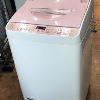 2017年製 シャープ 全自動洗濯乾燥機 ES-TX5A-P