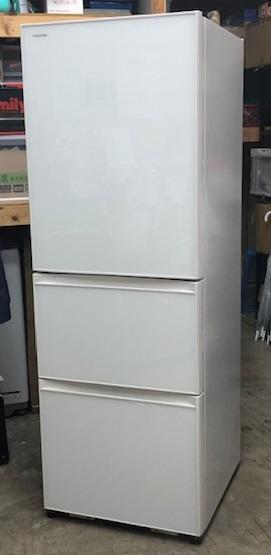 2016年製 東芝 3ドア冷蔵庫 GR-H38SXVL