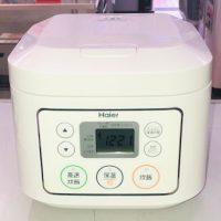 2018年製 ハイアール 3合炊き 炊飯器 JJ-M30C(W)