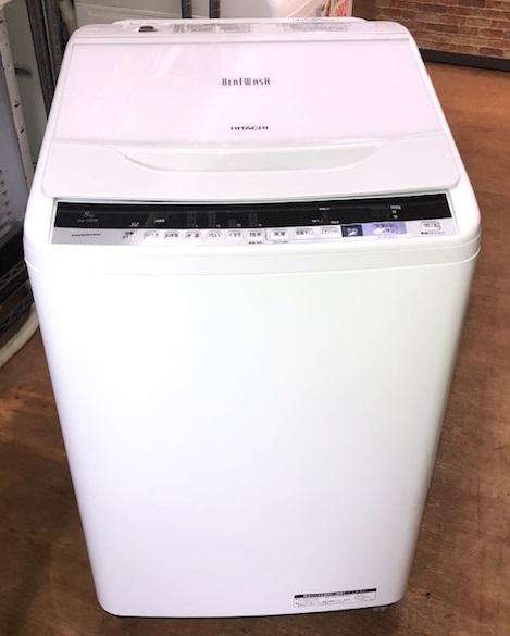 2018年製 日立 8.0㎏ 全自動洗濯機 BW-V80B