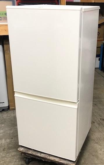 2018年製 アクア 2ドア 冷蔵庫 AQR-16G(W)
