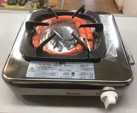 2011年製 リンナイ プロパンガス 1口コンロ   RTS-1NDA