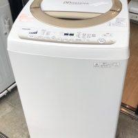 2015年製 東芝 全自動洗濯機 AW-7D2(W)