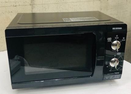 2019年製 アイリスオーヤマ 電子レンジ EMO-F518-5B