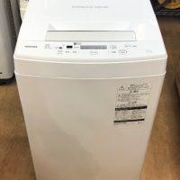 2019年製 東芝 全自動洗濯機 AW-45M7(W)
