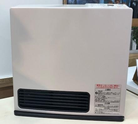 2018年製 リンナイ 都市ガスファンヒーター RC-N355E