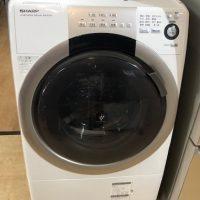 2015年製 シャープ ドラム式洗濯機 ES-S70-WL