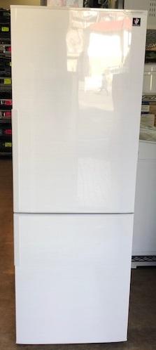 2017年製 シャープ 2ドア冷凍冷蔵庫 SJ-PD27D-W