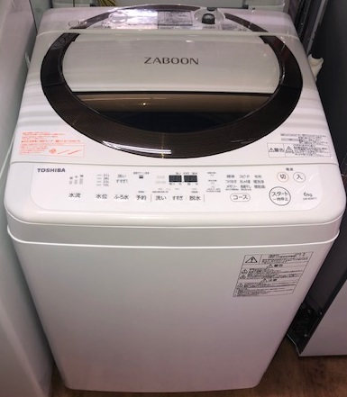 2018年製 東芝 全自動洗濯機 AW-6D6(T)