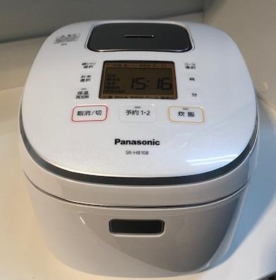 2019年製 パナソニック IHジャー炊飯器 SR-HB108
