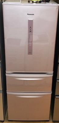 2016年製 パナソニック 3ドア冷凍冷蔵庫 NR-C32DM-P