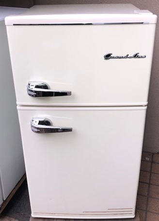 2018年製 エーステージ 2ドア冷凍冷蔵庫 ARD-90LW