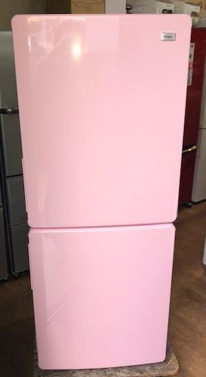 2018年製 ハイアール 2ドア冷凍冷蔵庫 JR-NF148A