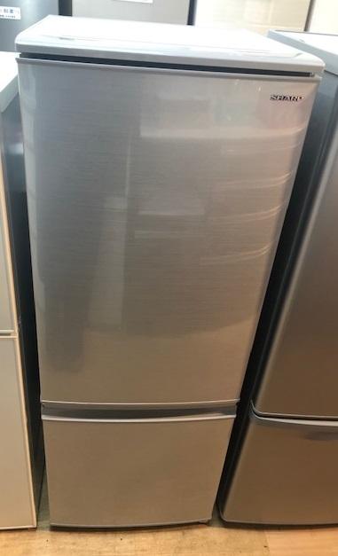 2019年製 シャープ 2ドア冷凍冷蔵庫 SJ-D17E-S