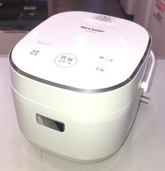 2019年製 シャープ ジャー炊飯器 KS-CF05A-W