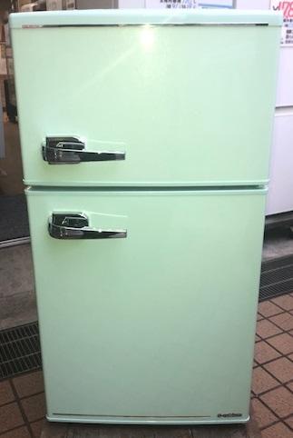 2018年製 エーステージ 2ドア冷凍冷蔵庫 WRD-2090G