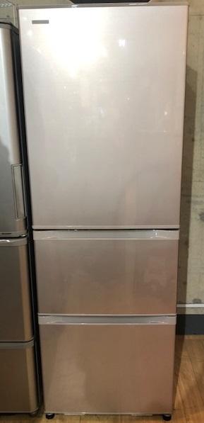 2015年製 東芝 3ドア冷凍冷蔵庫 GR-H38S(NP)