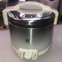 2019年製 リンナイ プロパンガス炊飯器 RR-030FS(W)