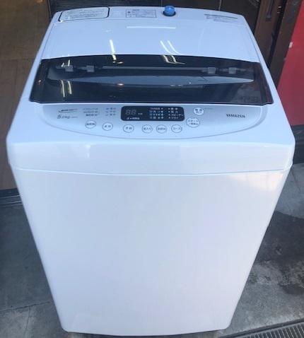 2019年製 山善 全自動洗濯機 YWMA-50