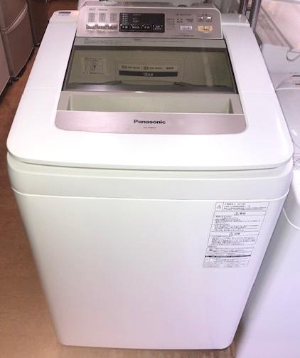 2014年製 パナソニック 全自動洗濯機 NA-FA80H1