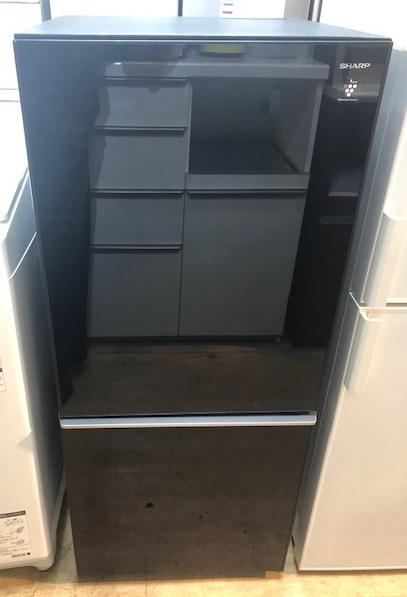 2017年製 シャープ 2ドア冷凍冷蔵庫 SJ-GD14C-B