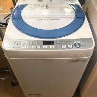 2015年製 シャープ 全自動洗濯機 ES-GE70R