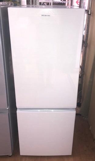 2019年製 アイリスオーヤマ 2ドア冷凍冷蔵庫 AF156-WE