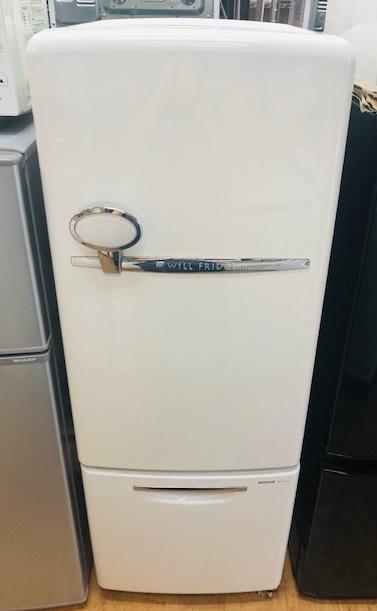 2003年製 ナショナル 2ドア冷凍冷蔵庫 NR-B16RA-W