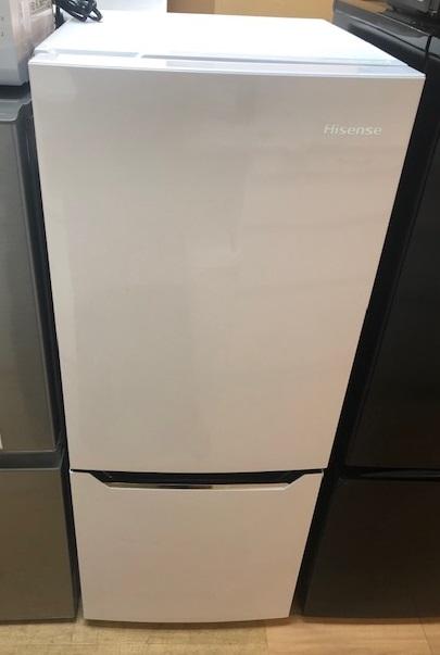 2019年製 ハイセンス 2ドア冷凍冷蔵庫 HR-D15C