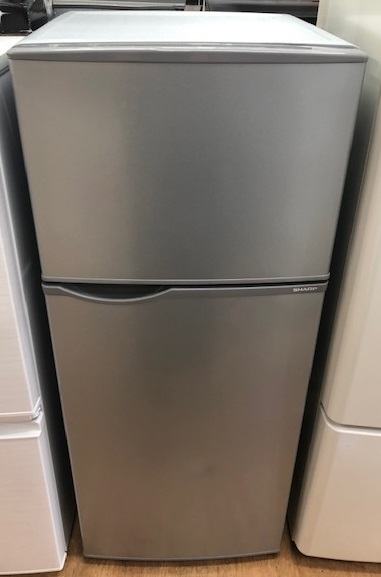 2017年製 シャープ 2ドア冷凍冷蔵庫 SJ-H12B-S