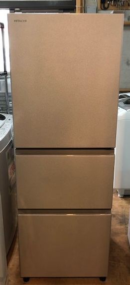 2019年製 日立 3ドア冷凍冷蔵庫 R-27KV