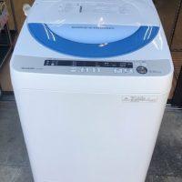 2015年製 シャープ 全自動洗濯機 ES-GE55P-A