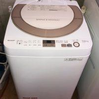 2017年製 シャープ 全自動洗濯機 ES-GE7A-N