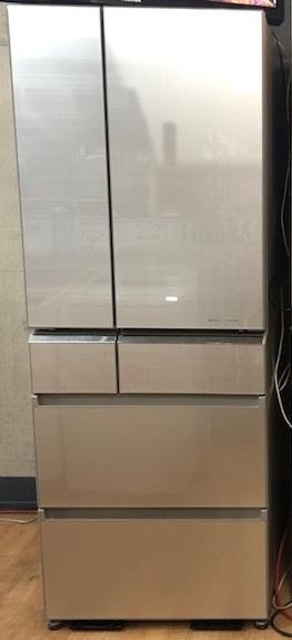 2015年製 パナソニック 6ドア冷凍冷蔵庫 NR-F510PV-N