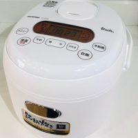 2019年製 アイリスオーヤマ ジャー炊飯器 RC-MD30-W