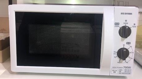 2019年製 アイリスオーヤマ 電子レンジ IMB-T176-5-W