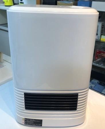 2013年製 ユアサ セラミックヒーター YA-S1261P(WH)