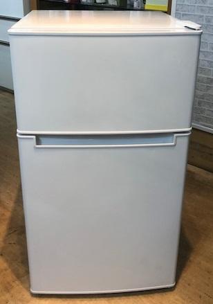 2019年製 アマダナ 2ドア冷凍冷蔵庫 AT-RF85B